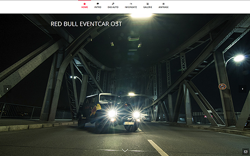 Screenshot Red Bull Eventcar Ost