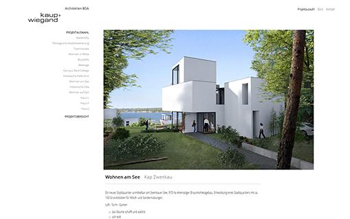 Screenshot Kaup + Wiegand
